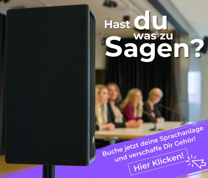 Sprachanlage mit Lautsprechern und Konferenz im Angebot Kassel Fuldatal zum Mieten